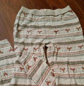 Fox Printed Leggings